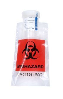 4 x 6, 2 Mil Biohazard Reclosable Bags