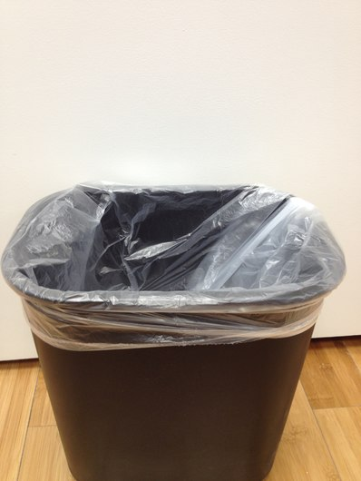 40 x 46, 48 Gallon Light Weight High Density <b>Clear</b> Trash Liners