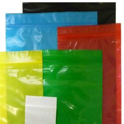 1 5 X 2 Mil Yellow Tint Reclosable Bags