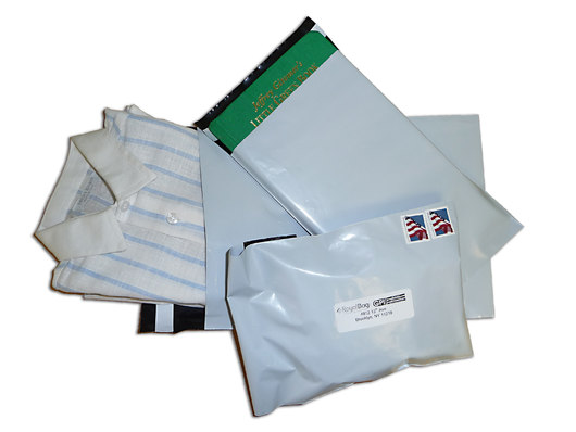 """5 X 7, 2.5 Mil Poly Mailers with 2"""" Lip"""